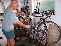 Towcester based Towcester Cycle Servicing (TCS) can offer, as well as cycle servicing and repairs, assistance in setting up your correct riding position on your bike.
